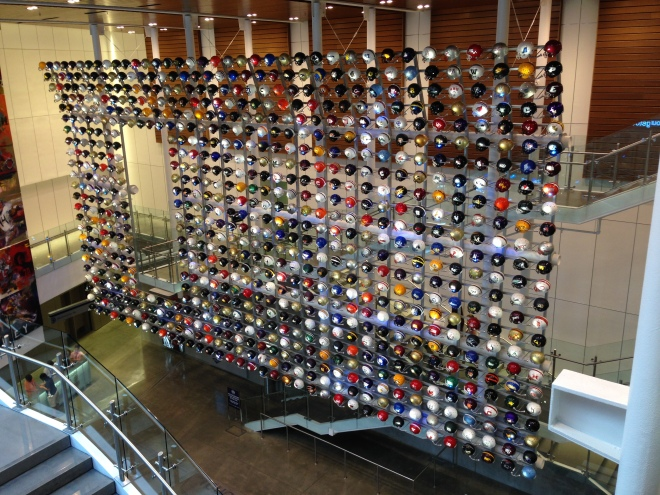 College Football Hall of Fame. Image belongs to The January Issue.